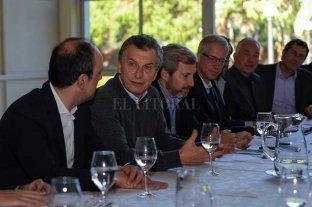 Y Macri fue a la mesa
