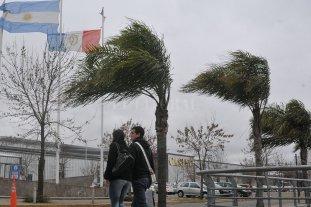 Alerta meteorológico por vientos fuertes con ráfagas -