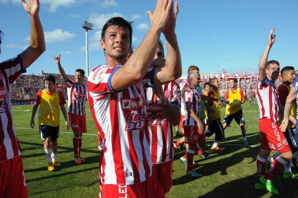 Zurbriggen vuelve a Unión <strong>Foto:</strong> Luis Cetraro