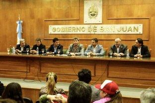 Copa Davis: presentaron en San Juan la serie entre Argentina y Colombia