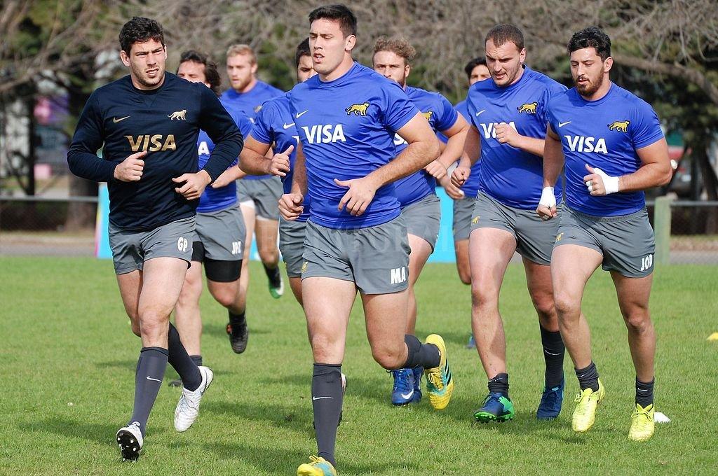 Entrenamiento de Los Pumas en el Club Newman de cara al Rugby Championship 2018. Prensa UAR