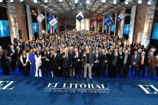 Con su gente, El Litoral celebró sus 100 años