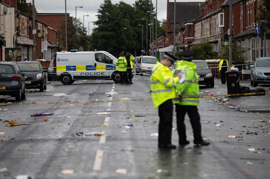 Las imágenes. <strong>Foto:</strong> Manchester Evening News.