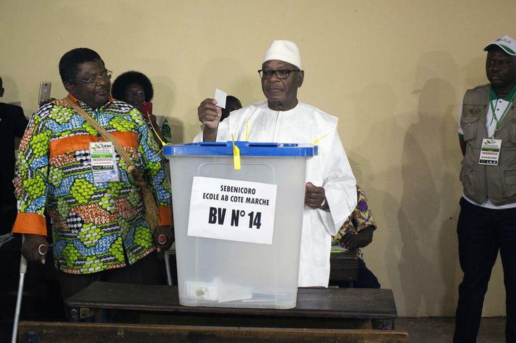 El presidente Keita, favorito en la segunda vuelta de las elecciones de Mali. <strong>Foto:</strong> Internet