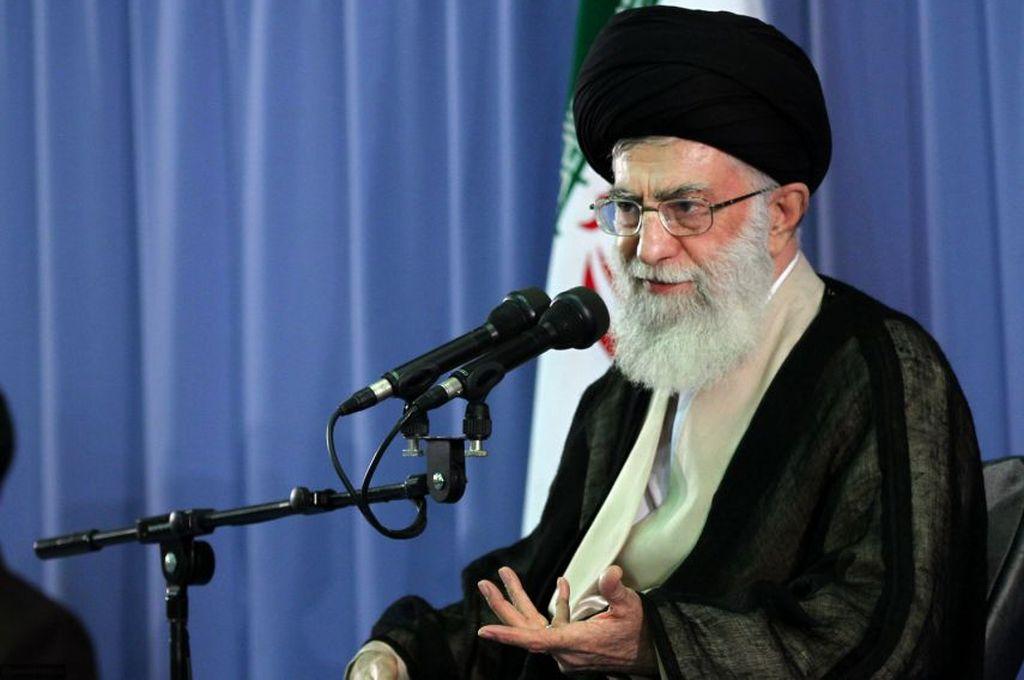 El ayatolá Ali Jamenei. <strong>Foto:</strong> Internet