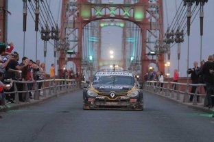 Ardusso aceleró en el Puente Colgante