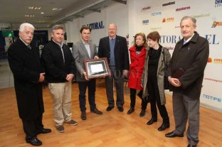 El Rotary Club distinguió a El Litoral por sus 100 años