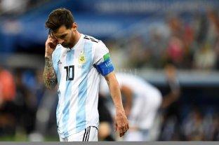 Messi no va a jugar en la Selección en lo que resta del año