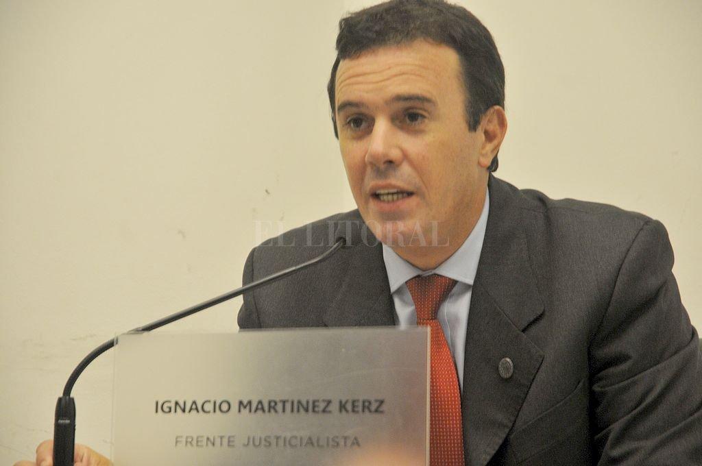 Ignacio Martínez Kerz. Crédito: Archivo El Litoral
