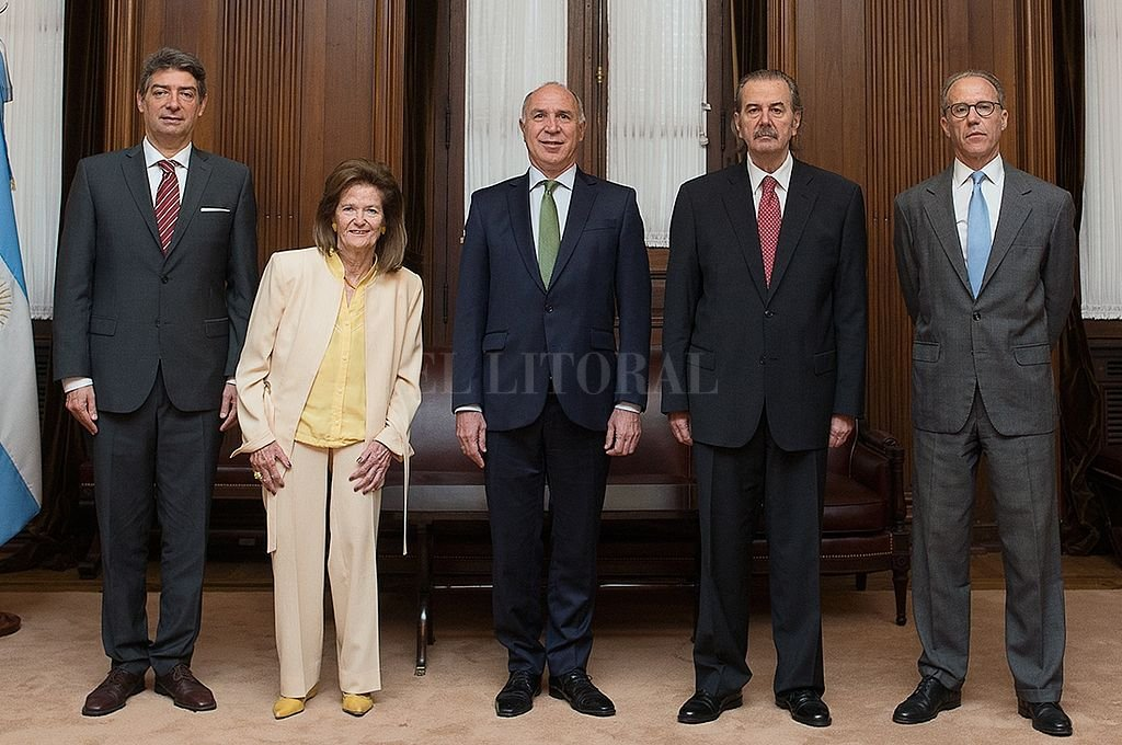 Ministros de la Corte Suprema. <strong>Foto:</strong> Corte Suprema de Justicia