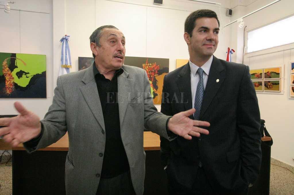 Urtubey fue uno de los mejores amigos de la política del dos veces gobernador Jorge Obeid. Crédito: Guillermo Di Salvatore