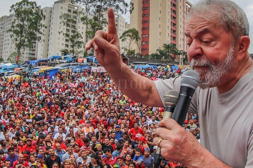 El expresidente Luiz Inacio Lula da Silva fue inscripto como candidato a la presidencia. Las encuestas lo favorecen para ganar en segunda vuelta. Crédito: Facebook Partido de los Trabajadores