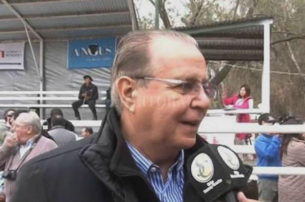 Gabriel Romero, titular de EMEPA. <strong>Foto:</strong> Captura digital