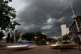 Alertas por tormentas fuertes y vientos intensos