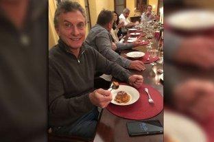 """""""¡Queremos flan!"""": Macri se unió a la sátira de Casero y publicó una foto en Instagram"""