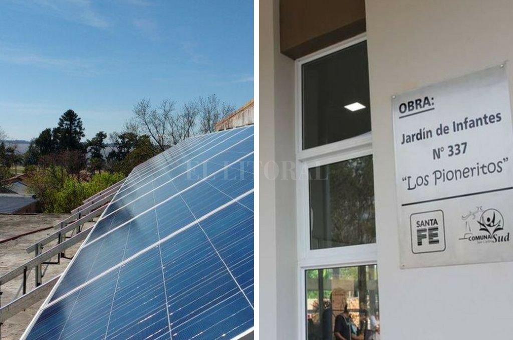 DESDE EL PASADO MES DE JULIO el Jardín N° 337 se transformó en la primera institución educativa de la provincia en ser Prosumidor de energía.  <strong>Foto:</strong> El Litoral