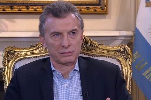 "Macri: ""Muchos dicen que no me conviene que Cristina Kirchner termine presa"""