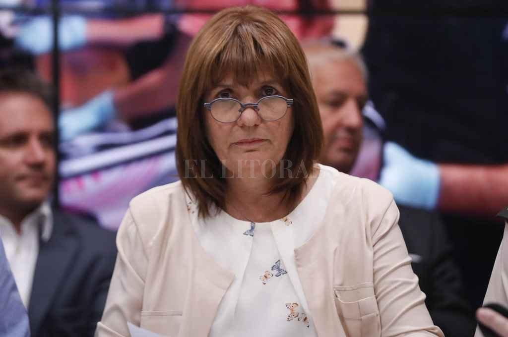Patricia Bullrich, ministra de Seguridad de la Nación <strong>Foto:</strong> Archivo El Litoral