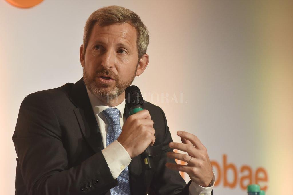 """Rogelio Frigerio. El ministro político de Macri es una pieza clave en el intento por un ajuste """"consensuado"""" para 2019. <strong>Foto:</strong> El Litoral"""