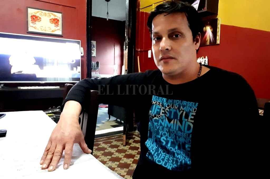 """""""Se entendió que la droga de mi hijo era para consumo personal y no para vender"""", refirió Claudio Céspedes. <strong>Foto:</strong> Danilo Chiapello"""
