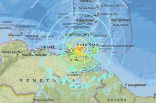 Un terremoto de magnitud 7 sacudió a Venezuela