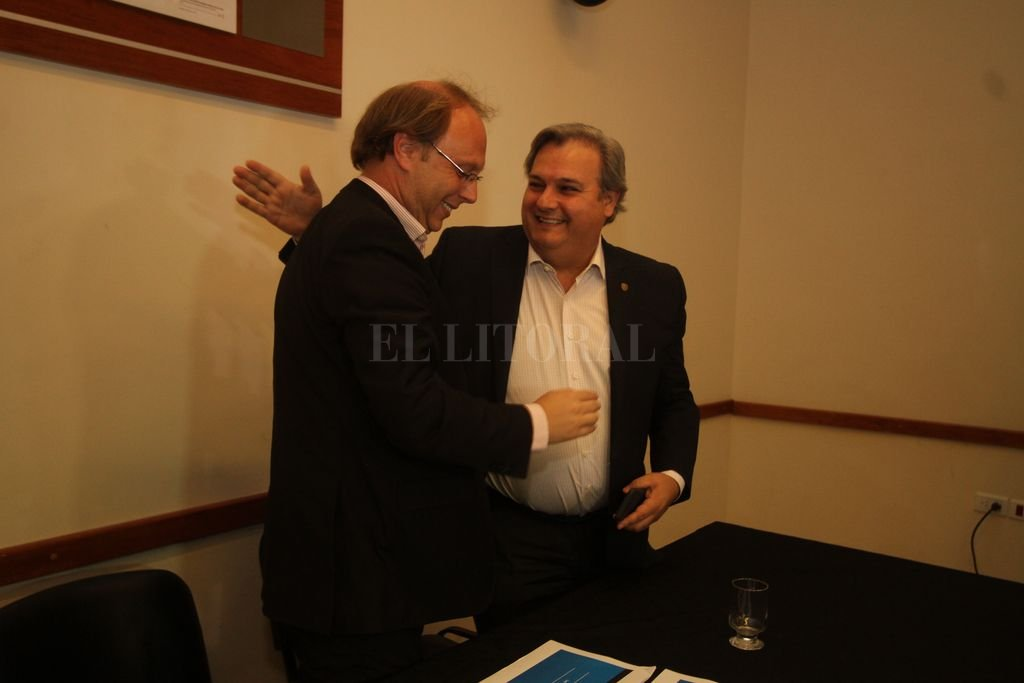 Saglione y Farías tendrán a su cargo la reunión de hoy en el Centro Cultural. Crédito: Guillermo Di Salvatore