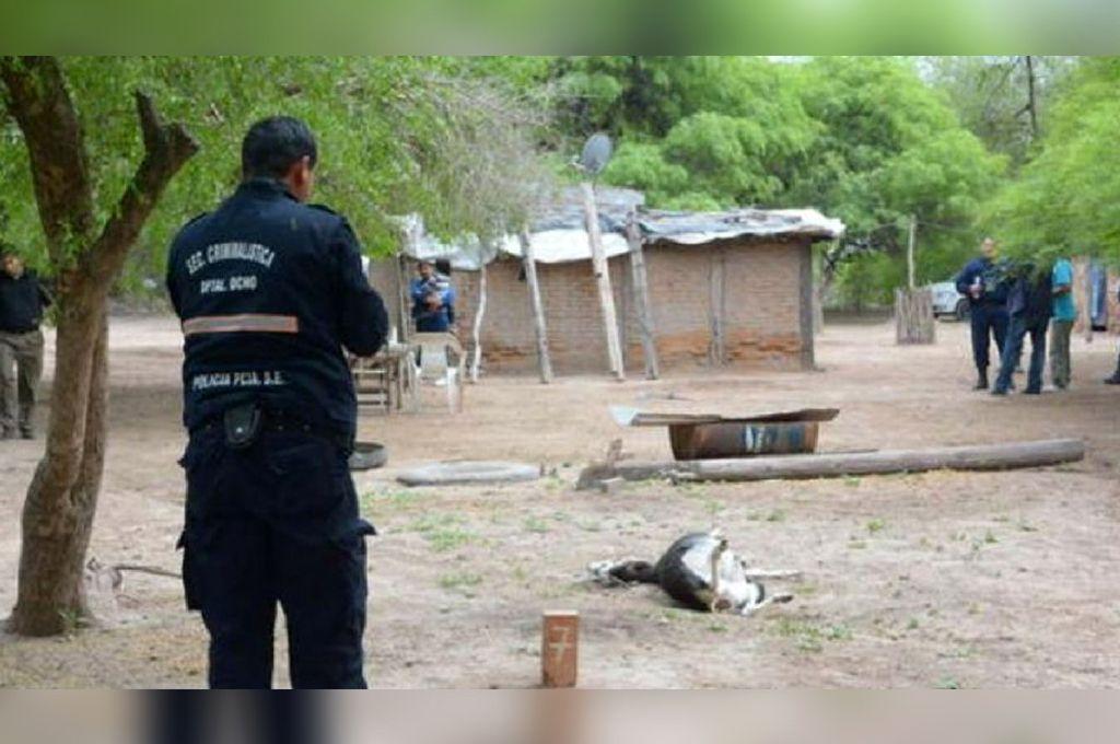 Revelan detalles escalofriantes de la casa del horror de Santiago del Estero. <strong>Foto:</strong> El Liberal.