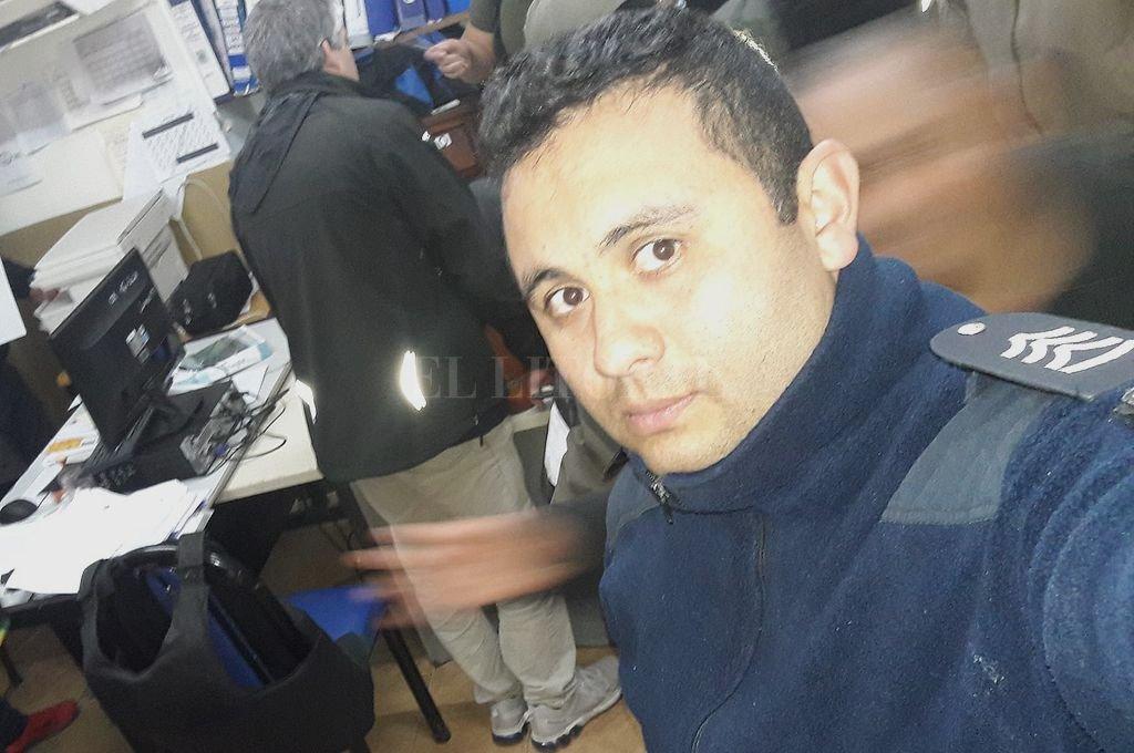 Gerardo Miguel Abarza, el sargento de la Bonaerense que fue ultimado de un balazo. <strong>Foto:</strong> Facebook Gerardo Miguel Abarza