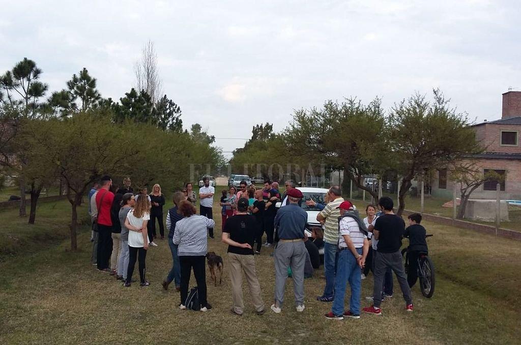 Encuentro. Los vecinos de Villa California se reunieron para analizar el proyecto. <strong>Foto:</strong> Vecinos de Villa California.