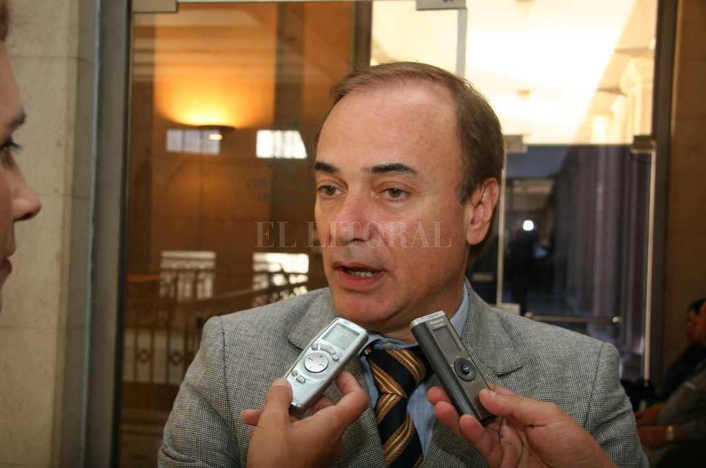 Eduardo Di Pollina es primo de Rodolfo Di Pollina.  Archivo El Litoral