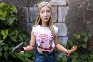 Un rosarino le encargó a un artista que le haga una muñeca de Nahir Galarza