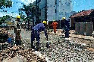 Dieron el aval al pedido para pavimentar 124 calles urbanas