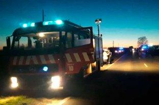 Fuerte choque en el sur de Santa Fe dejó dos muertos y un herido