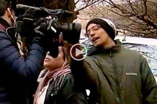 Agredieron a periodistas en la puerta de la casa de Cristina Kirchner en El Calafate