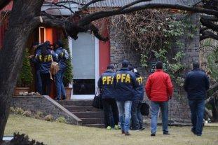 Continúan los allanamientos en la casa de Cristina Kirchner de El Calafate este domingo