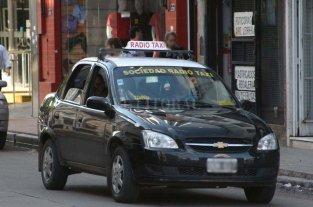 Utilizaron a un taxista para un robo en el centro