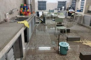 Robo y destrozos en la  escuela Esperanza Solidaria