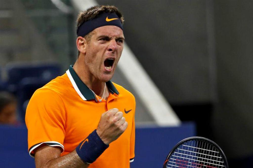 Del Potro le ganó a Young y avanzó a la segunda ronda del US Open. <strong>Foto:</strong> Internet
