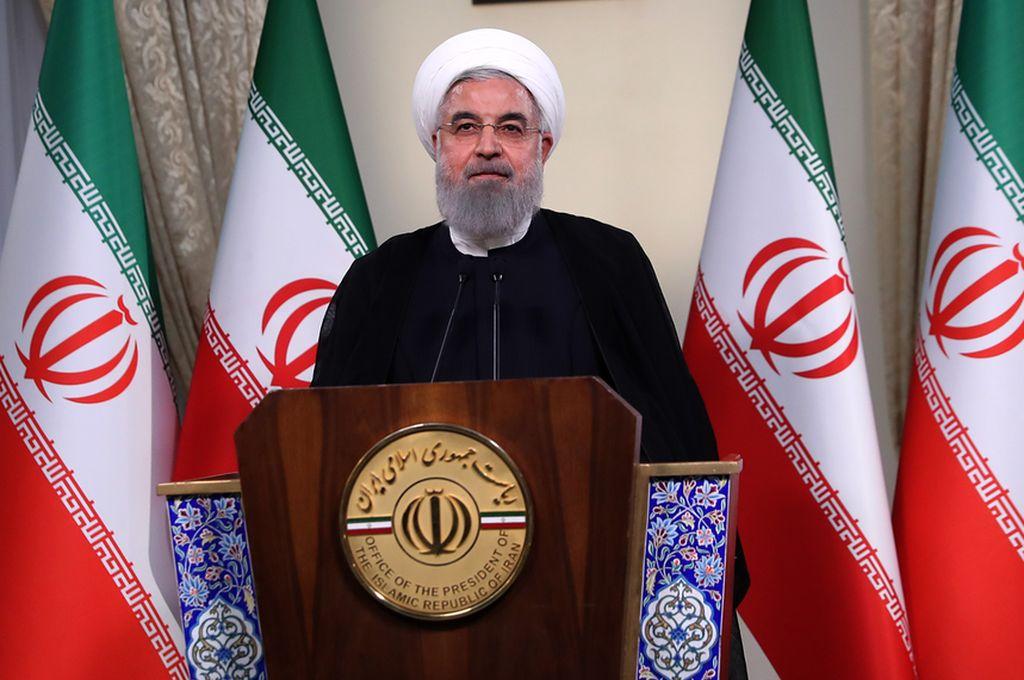 Hassan Rohani, presidente de Irán. Crédito: Archivo