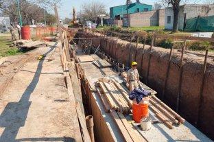 Las obras en el canal Roverano ya alcanzan el 50 por ciento