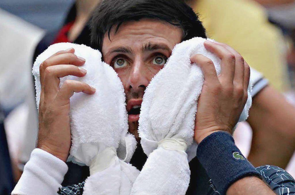 Djokovic sobrevivió al calor extremo de Nueva York y avanzó a la segunda ronda. Crédito: Internet