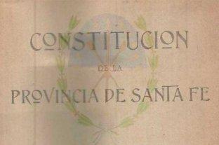 ¿Por qué buscan reformar la Constitución de Santa Fe?