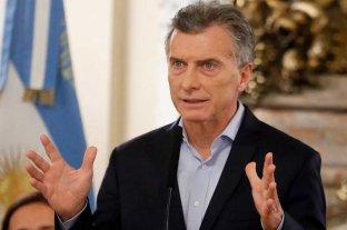 """Macri: """"Acordamos con el FMI adelantar los fondos necesarios para garantizar el cumplimiento del programa financiero de 2019"""""""