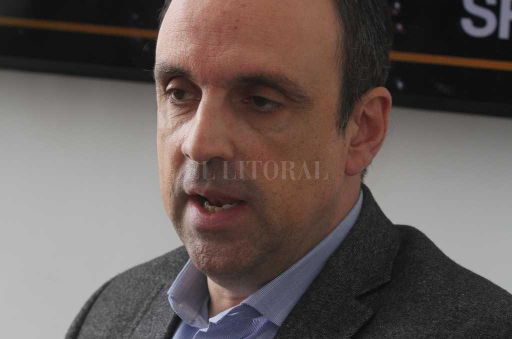 El intendente de Santa Fe José Corral.  Archivo El Litoral