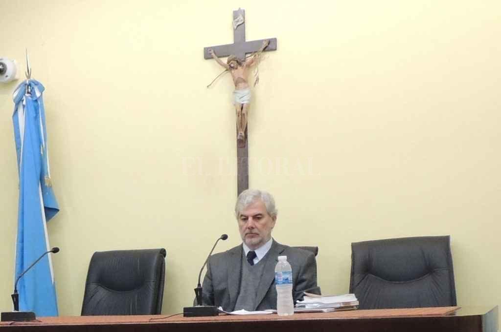 Nicolás Muse Chemes se desempeña como juez de sentencia en la ciudad de Vera. Crédito: Archivo El Litoral