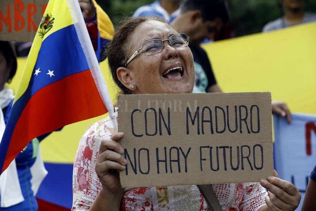Cada vez más complicada la situación del país socialista, Venezuela. Crédito: dpa
