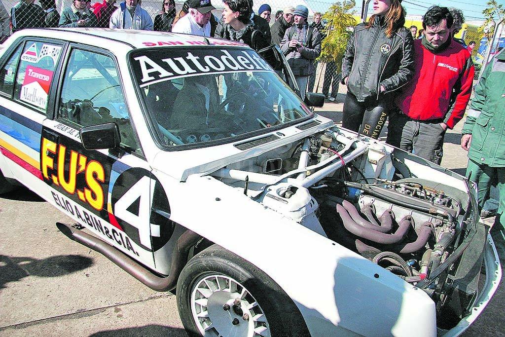 Con el Renault 18, Traverso fue el primer ganador del callejero <strong>Foto:</strong> Luis Cetraro