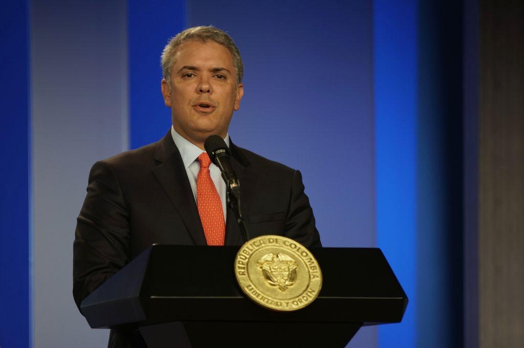 Iván Duque, presidente de Colombia. <strong>Foto:</strong> dpa