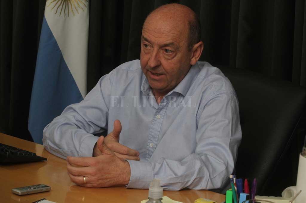 El ministro destacó el trabajo coordinado de todo el gabinete provincial y, en particular, del gabinete social para remontar la situación de crisis. Crédito: Guillermo Di Salvatore