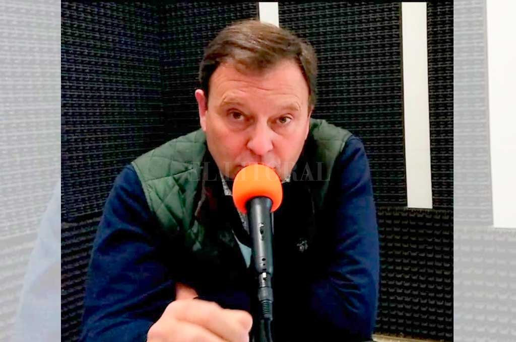 """Néstor Peretti, presidente comunal de Cañada Rosquín, asegura que """"la droga está avanzando a pasos agigantado y nos mata a todos"""" <strong>Foto:</strong> Gentileza Juventud Fm"""
